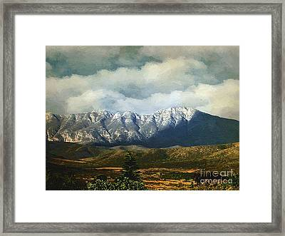 Smoky Clouds On A Thursday Framed Print by RC deWinter