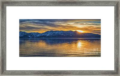 Smoky Color Framed Print