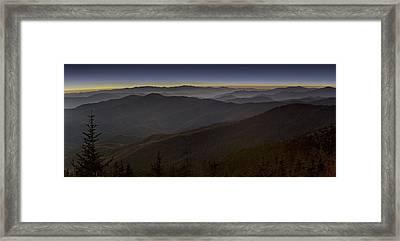Smoky Framed Print