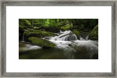 Smoky Mountain Dream Framed Print by Johan Hakansson