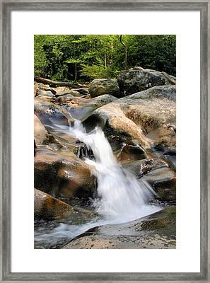 Smoky Mountain Flow Framed Print by Kristin Elmquist