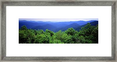 Smoky Mountain National Park Framed Print by Panoramic Images