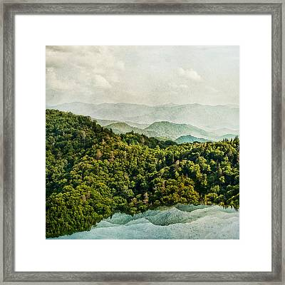 Smoky Mountain Reflections Framed Print