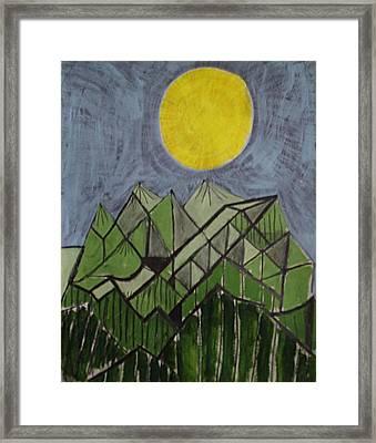 Smoky Mountains Framed Print