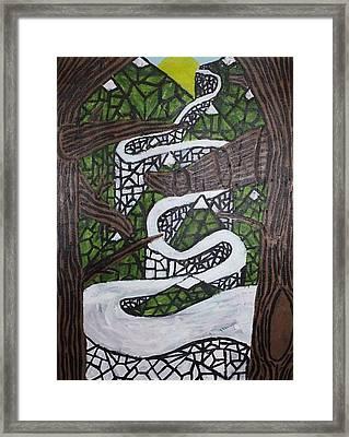 Smoky Mtns Framed Print by William Douglas