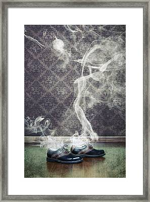 Smoky Shoes Framed Print by Joana Kruse