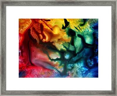 Smooth As Silk By Madart Framed Print
