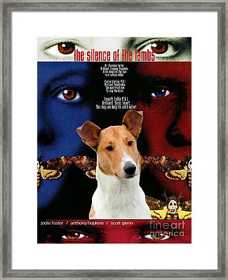 Smooth Collie Art Canvas Print - The Silence Of The Lambs Movie Poster Framed Print