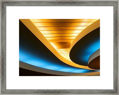 Smooth Curves Framed Print