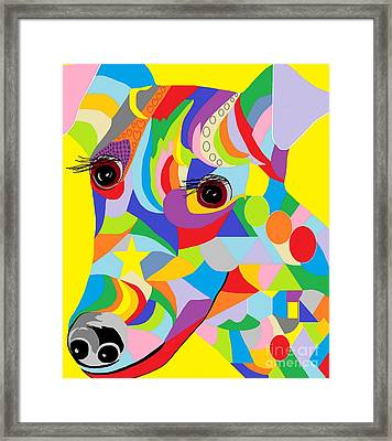 Smooth Fox Terrier Framed Print by Eloise Schneider
