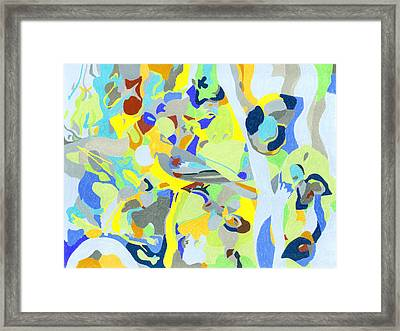 Smooth Jazz Framed Print by Tadeush Zhakhovskyy