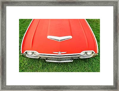 Smooth Red Framed Print by Todd Klassy