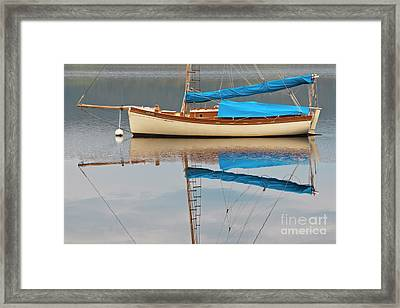 Framed Print featuring the photograph Smooth Sailing by Werner Padarin