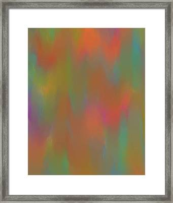 Smooth Transition Framed Print by Dan Sproul