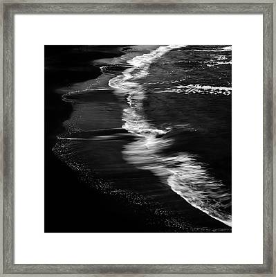 Smooth Waves Framed Print by Stelios Kleanthous