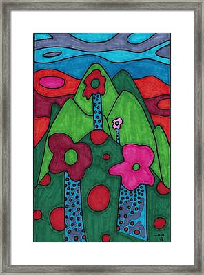 Dream Land Framed Print
