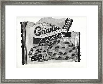 Snack Time Framed Print by Penny Everhart