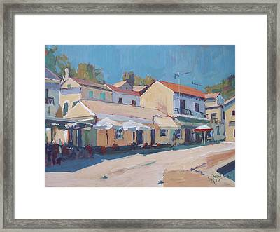Snackbar Europe Loggos Framed Print