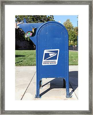 Snail Mail - 5d18813 Framed Print