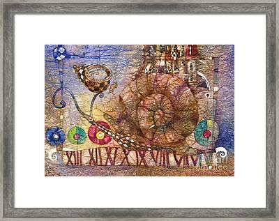 Snail Framed Print by Svetlana and Sabir Gadghievs