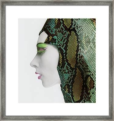 Snake Eyes Framed Print by Bert Stern