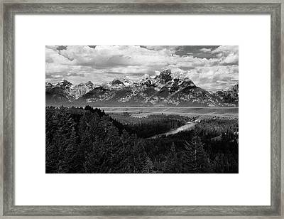 Snake River Framed Print