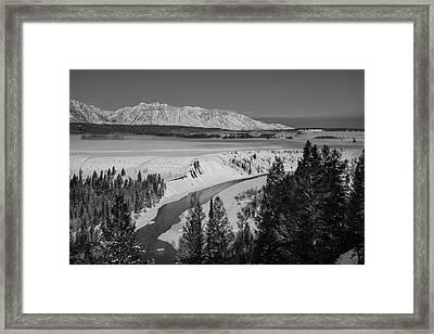 Snake River View Framed Print