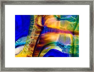Snakeskin Goddess Framed Print