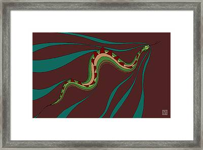 snakEVOLUTION III Framed Print