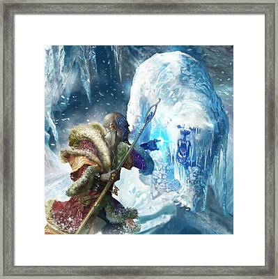 Snap Freeze Framed Print by Ryan Barger