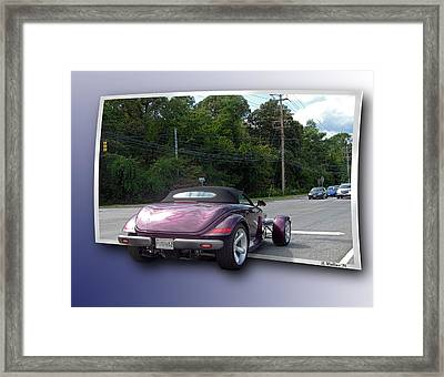 Snazzy Framed Print by Brian Wallace