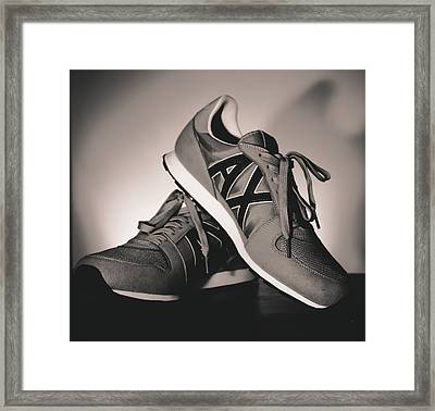 Sneakers Framed Print