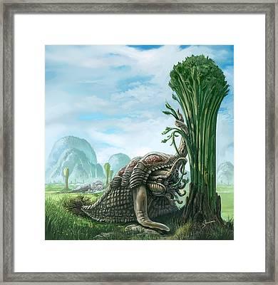 Snelephant Framed Print