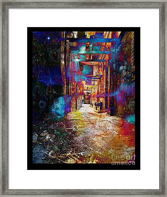 Framed Print featuring the photograph Snickelway Of Light by Phil Perkins
