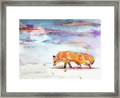 Sniffing Out Some Magic Framed Print by Beverley Harper Tinsley