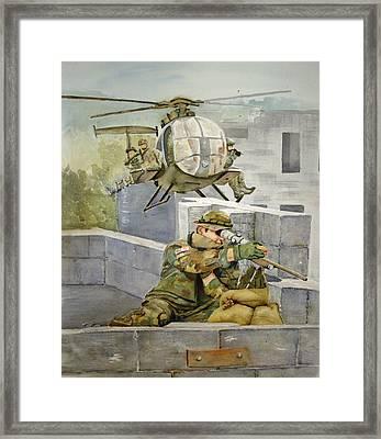 Sniper Military Tribute Framed Print by Kerra Lindsey