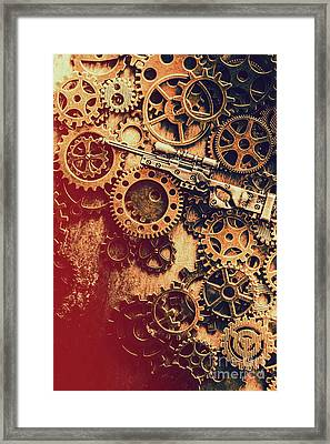 Sniper Rifle Fine Art Framed Print