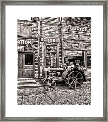 Snohomish Antiques Framed Print