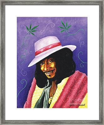 Snoop Dogg Framed Print by Kristi L Randall