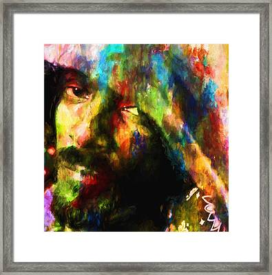 Snoop Doggy Dogg Framed Print by Dan Sproul