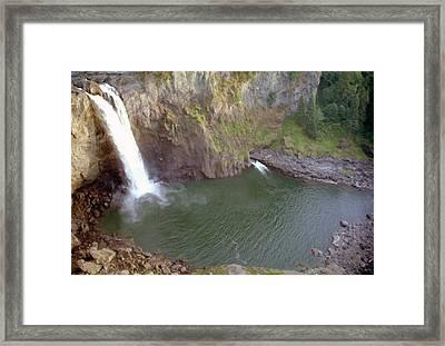 Snoqualmie Falls 3 Framed Print by Steve Ohlsen