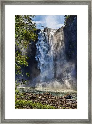 Snoqualmie Falls Framed Print by Kelley King