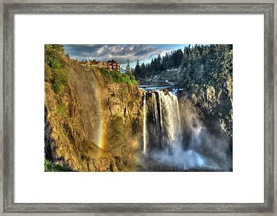 Snoqualmie Falls, Washington Framed Print