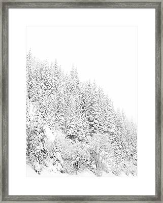 Snoqualmie Pass Framed Print by Ann Johndro-Collins