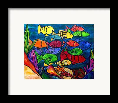 Aquarium Art Framed Prints