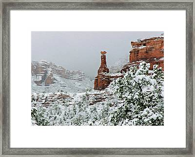 Snow 06-027 Framed Print