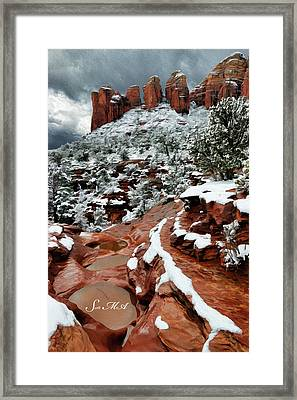 Snow 06-068 Framed Print
