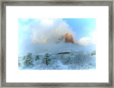 Snow 07-104 Framed Print