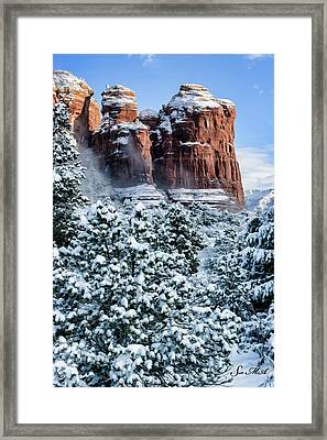 Snow 07-111 Framed Print