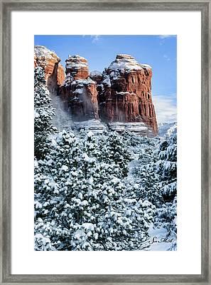 Snow 07-111 Framed Print